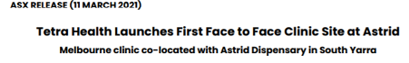 ASX Release Tetra