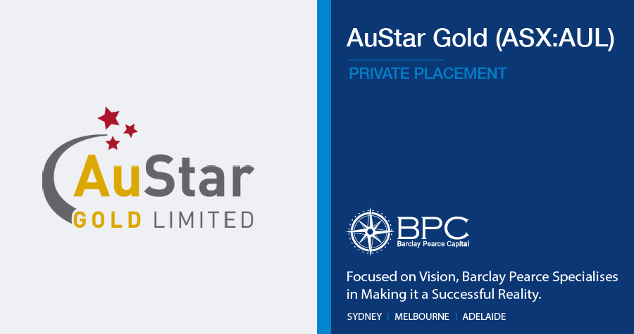 Private Placement - AuStar Gold Limited (ASX:AUL)