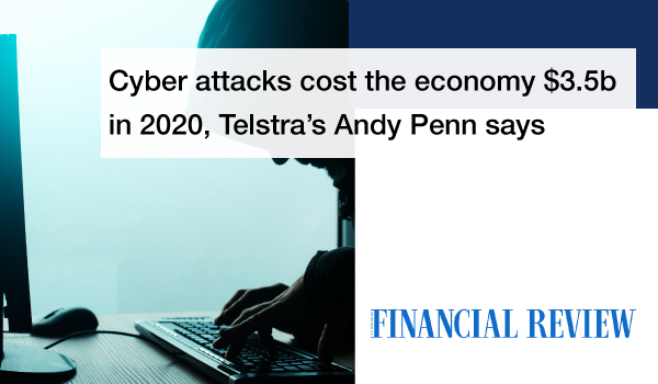 Cyber attacks cost the economy $3.5b in 2020