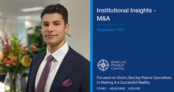 Institutional Insights ~ M&A