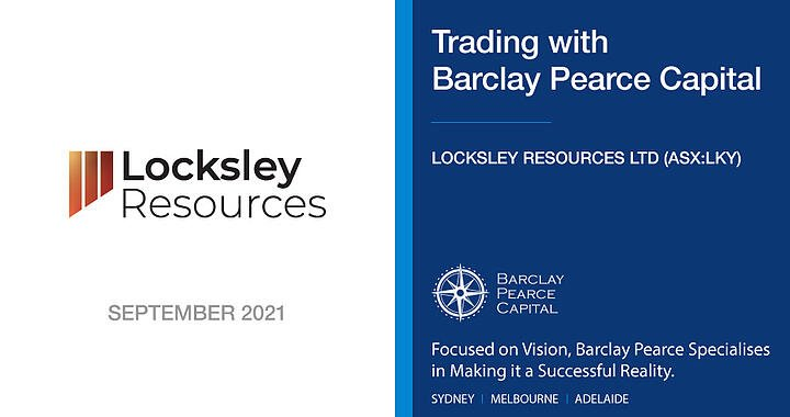 Locksley Resources (ASX:LKY) - Trading With BPC