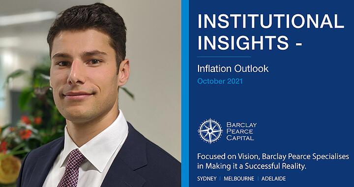 Institutional Insights ~ Inflation Outlook