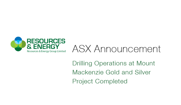 REZ - Drilling Operations at Mount Mackenzie Gold and Silver Project Completed