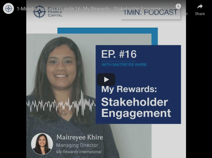My Rewards- Stakeholder Engagement