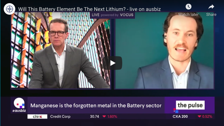Will this battery element be the next lithium? - Live on Ausbiz