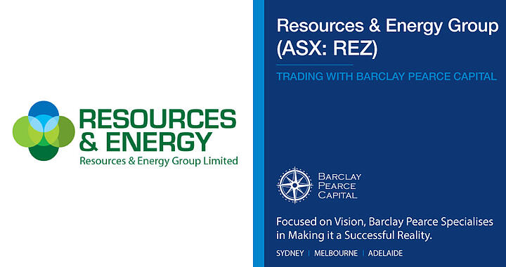 Resources and Energy Group (ASX:REZ) - Trading With Barclay Pearce Capital