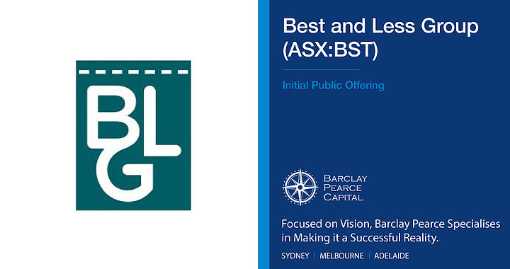 IPO- Best & Less Group (ASX:BST)