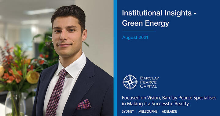 Institutional Insights ~ Green Energy