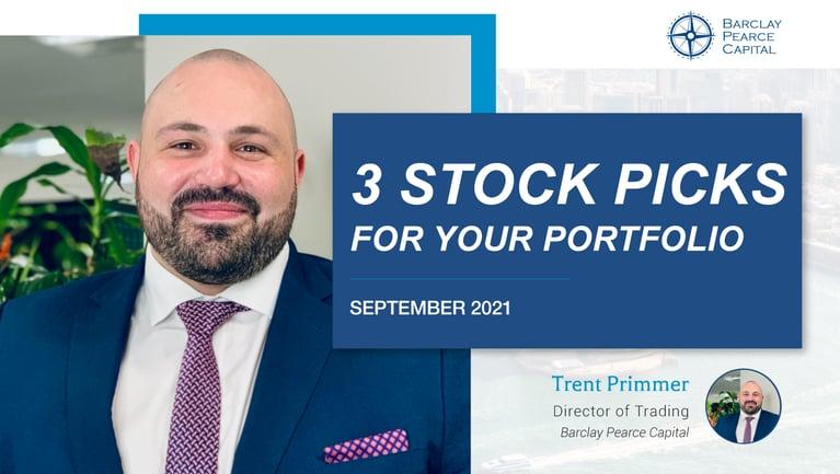 Top 3 ASX Stock Picks - September 2021